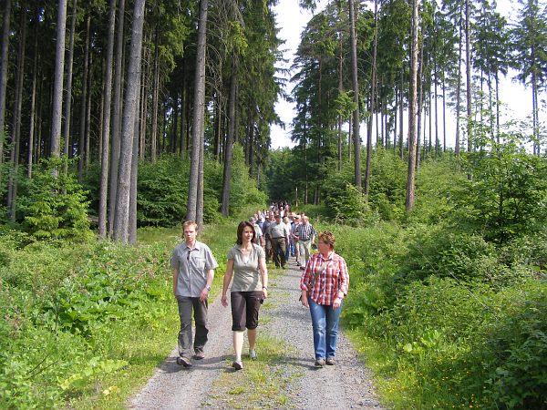 Waldbegang Forst, 06.06.10