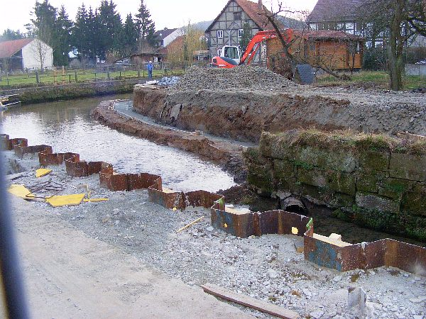 Schwülme-Renaturierung Nov. 2010 bis Jun. 2011