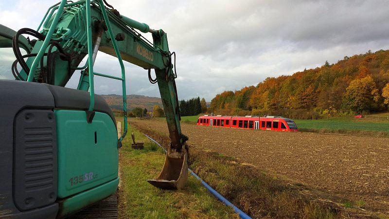 Trinkwasserleitungsbau