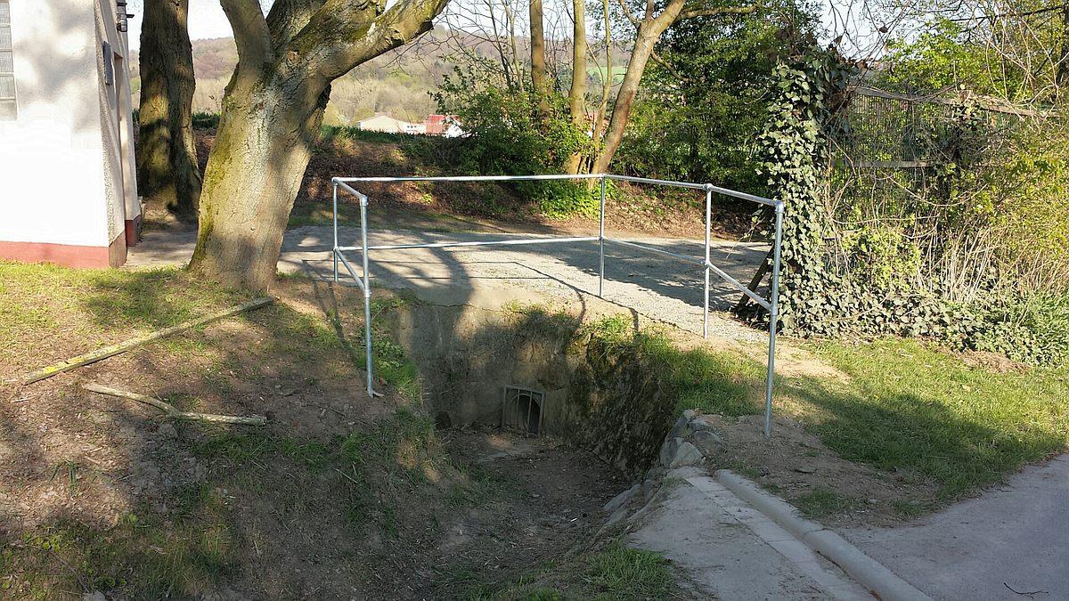 Einlauf Graben am Wasserhaus Zur Bramburg
