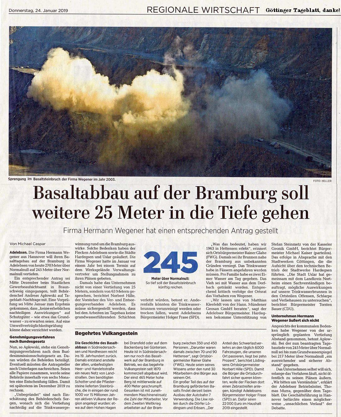 Bramburg, wegener-Basalt