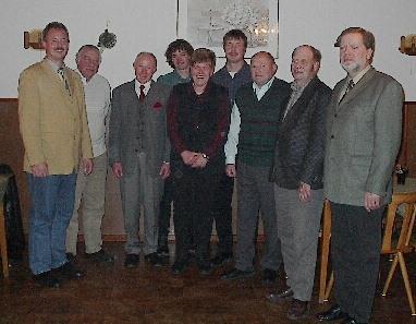 N.Hille, W. Borchert, B. Gierke (GD), M. Wellhausen, A. Wellhausen, C. Mahn bis 30.10.03, M.Buhre (Verw) bis 05.06.03, F.-G. Buhre, H. Becker