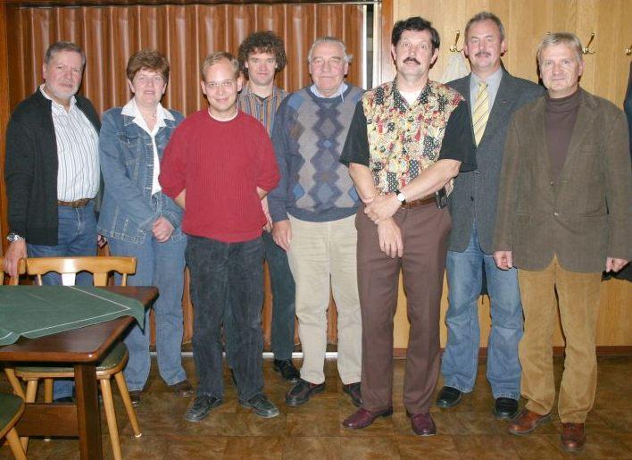 Ortsrat 2006-2011, H. Becker, A. Wellhausen, C. Buhre, M. Wellhausen, W. Borchert, M. von Minden, N. Hille, U. Perkaus (Verwaltung)
